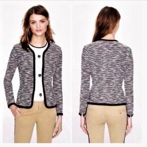 J. Crew Boucle Sweater Jacket